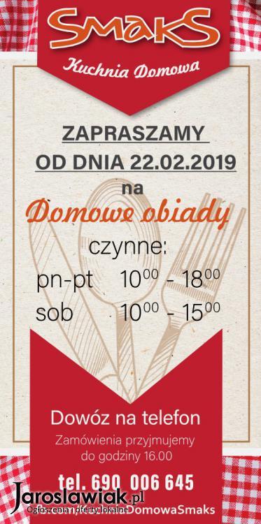 Smaks Kuchnia Domowa Najlepsze Domowe Obiady Jaroslawiak Pl