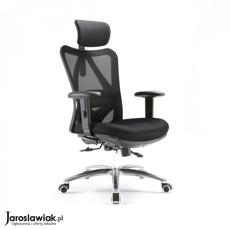Fotel Krzesło Ergonomiczny Biurowy Obrotowy Europa Do Biura