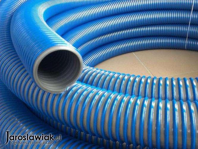 Super PROMOCJA Wąż ssawny asenizacyjny PCV typ AGRO zbrojony do wody RO55