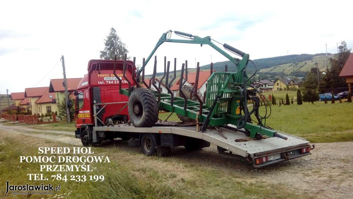 Cudowna Transport Maszyn Rolniczych Leśnych i Budowlanych - Pomoc Drogowa AQ49